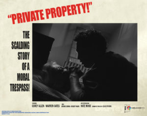 PRIVATE PROPERTY (USA, 1960) by Leslie Stevens Cinelicious Pics (Blu-Ray)