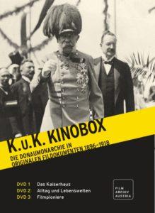 K.u.K. KINOBOX. DIE DONAUMONARCHIE IN ORIGINALEN FILMDOKUMENTEN (varie, 1896-1918) Filmarchiv Austria/Ernst Kieninger,Nikolaus Wostry (DVD)
