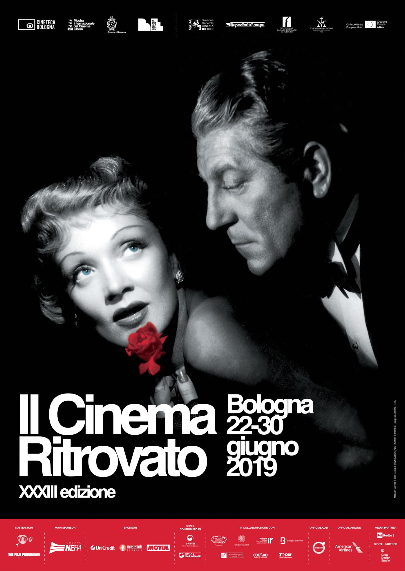 Aspettando Il Cinema Ritrovato: il poster del festival!  Il